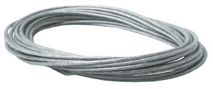 979049 9790.49 Wire Systems Light&Easy safety tension cable insulated 6m 6qmm Clear Paulmann