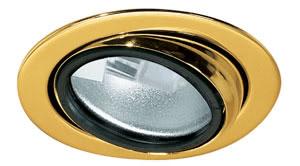 98458 Набор светильников встраиваемых круглых поворотных мебельных 5x20W G4 230/12V золото (транс 105VA) 984.58 Micro line furniture down light set, swivelling, Gold, 5 pc. set Paulmann