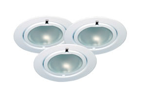 98469 Светильник мебельный Клип-Клап, белый, 3х20W 984.69 Furniture recessed light Klipp Klapp 3x20W70VA 230/12V G4 72mm Wh sheet st/gl Paulmann