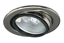 98476 Светильник мебельный поворотный, 1х20W The pivoting Swivel furniture recessed luminaire is suitable for all situations where the available installation depth is at least 25Вmm. The 12 halogen technology provides brilliant light, and is also dimmable as an added extra. 984.76 Micro line furniture down light, swivelling Chrome Paulmann