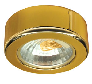 98481 Светильник мебельный накладной, 20W 984.81 Furniture ABL max.20W 12V G4 66mm Gold sheet steel Paulmann