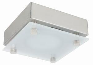 98500 Набор светильников накладных квадратных мебельных 3x20W G4 230/12V хром матовый/сатин (транс 6 985.00 Furniture ABL Quadro 3x20W 230/12V G4 Chrome matt/Satin Paulmann