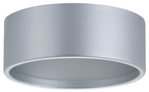 98606 Корпус к светильнику An enhanced look for your furniture recessed luminaires: With the furniture mounting ring for the Micro Line IP44 Downlight, you can give your luminaires a solid appearance and instantly transform them into an exceptional, elegant furniture accessory. 986.06 Paulmann – Buy lamps and luminaires online from the manufacturer Paulmann Lighting Paulmann