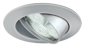 98693 Светильник встраиваемый круглый поворотный Wellness Light LED 1x3W хром матовый (IP23, cd 175) 2850-8000К Profi Line Wellness is the right choice for creating moods with light: state of the art LED technology: controlled with a standard touch switch, these units can quickly create any and every kind of mood. The full range, from cool