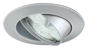 Profi recessed light LED 3W 83mm Chrome matt