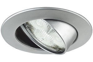 Profi recessed light LED Power Spot 3W 83mm Chrome matt