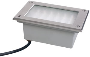 98749 Светильник встраиваемый кв. 1х6Вт нерж This really can take the strain: this stainless steel recessed lamp featuring IP67 class protection is guaranteed water-tight, non-rusting and suitable for installation in outdoor floor areas - Profi Line Floor can easily handle direct weights of up to 1,700kg. The integrated control unit is suitable for standard 230V power cables. 987.49 Paulmann – Buy lamps and luminaires online from the manufacturer Paulmann Lighting Paulmann