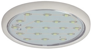 98788 Светильник встраиваемый LED 5x1,22 W, прозрачн. Discover completely new lighting possibilities with LED free-standing lamps: Once installed, no maintenance for years thanks to the 50,000 hours life of the modern LED lamps. Super flat casing with no recess depth, protrudes a mere 7mm. Therefore especially suitable for locations where space is at a premium (e.g. shelves, elevated beds, or wall cupboards). Minimal heat generation makes for additional safety. Extremely easy to fit thanks to clip technology. Complete set including power pack and cable. 987.88 Furniture ABL Set LED 5x1,22W 12VA 230/12V 59mm White/Plastic Paulmann
