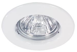 98813 Набор светильников встраиваемых круглых 5x20W GU5,3 230/12V белый (транс 105VA) 988.13 Paulmann