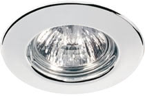 98819 Светильник встраиваемый 5x20W GU5,3, Beautiful design - ideal for living spaces. The halogen 12В V recessed luminaires of the Quality Line offer brilliant light and fulfil even the highest expectations for material quality and design. 988.19 Quality line recessed light set, halogen, 51 mm, Chrome, 5 pc. set Paulmann