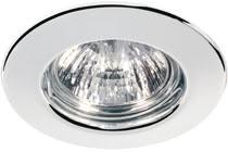 Quality line recessed light, 51 mm, Chrome