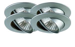 98947 Светильник встраиваемый поворотный, GU10, 4x50W 989.47 Paulmann – Buy lamps and luminaires online from the manufacturer Paulmann Lighting Paulmann