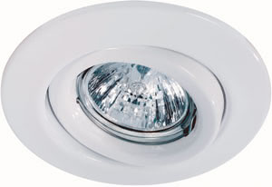 98996 Светильник встраиваемый Квалити, белый, GU10, 2x50W 989.96 Quality line recessed light set, 230 V halogen, White, Swivelling, 2 pc. set Paulmann