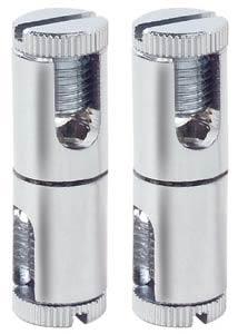 99056 Соединительный элемент Хип Хоп, хром (2 шт.) 990.56 Rail Hip Hop rail connector 12V chrome alu/glass Paulmann