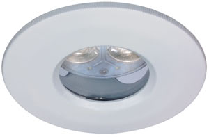 Profi DL LED rigid IP65 1x3W 12V GU5,3 51mm White/Metal
