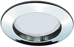 99480 Светильник встраиваемый Premium ESL 2x11W 230V GU10 51мм хром 994.80 Premium DL Set rigid ESL 2x11W 230V GU10 51mm Chrome/Alu-zinc Paulmann