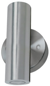 Special line surface-mounted wall light, Facula bicolour, Brushed nickel, 1 pc. set