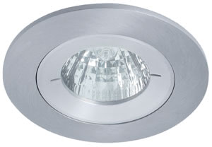 99807 Светильник встраиваемый Profi IP65 3x35W GU5,3 51mm алюм. Elegant material – high-quality finish. The halogen 12 V recessed lights of the Premium Line offer brilliant light and fulfil even the highest expectations for material quality and design. They are also water jet protected (IP65). 998.07 Premium line recessed light set, halogen, 51 mm IP65, Aluminium, 3 pc. set Paulmann
