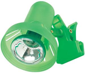 99828 998.28 TIP Galeria clamp spot R50 max.40W E14 green 230V Paulmann