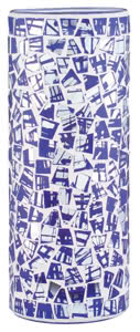 99846 Плафон для cв-ка Living 2Easy Fabro мозаика/синий 998.46 2Easy decorative glass, Fabro, mosaic blue Paulmann
