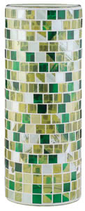 99848 Плафон для cв-ка Living 2Easy Fabro мозаика/зеленый/желт. 998.48 2Easy decorative glass, Fabro, mosaic yellow, green Paulmann