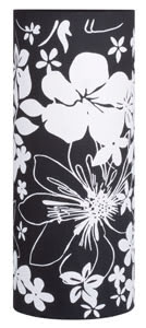 99852 Плафон для cв-ка Living 2Easy Cilento черн. 998.52 2Easy decorative shade, Cilento Floral, black, fabric Paulmann