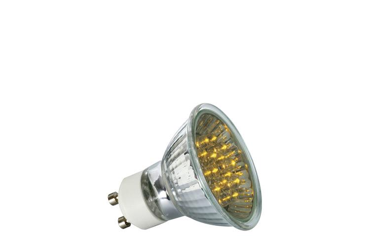 Paulmann. 28008 Лампа рефлекторная светодиодная LED, желтый 1W GU 10