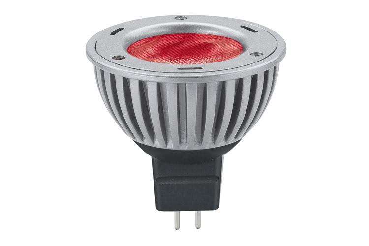 Paulmann. 28058 Лампа LED Свеча 3W GU5,3 40° Красный