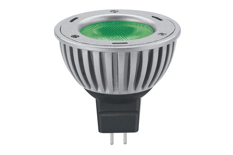 Paulmann. 28059 Лампа LED Свеча 3W GU5,3 40° Зеленый