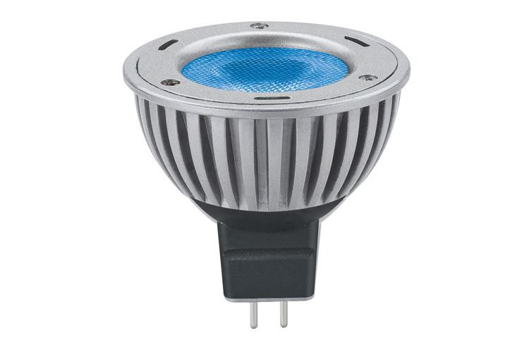 Paulmann. 28060 Лампа LED Свеча 3W GU5,3 40° Синий