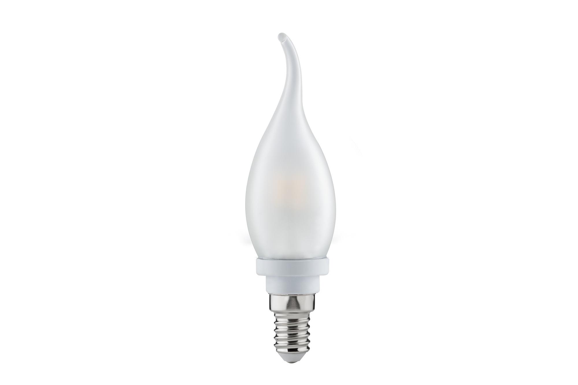 Paulmann. 28171 Лампа LED свеча на ветру 2,2W E14, матовая