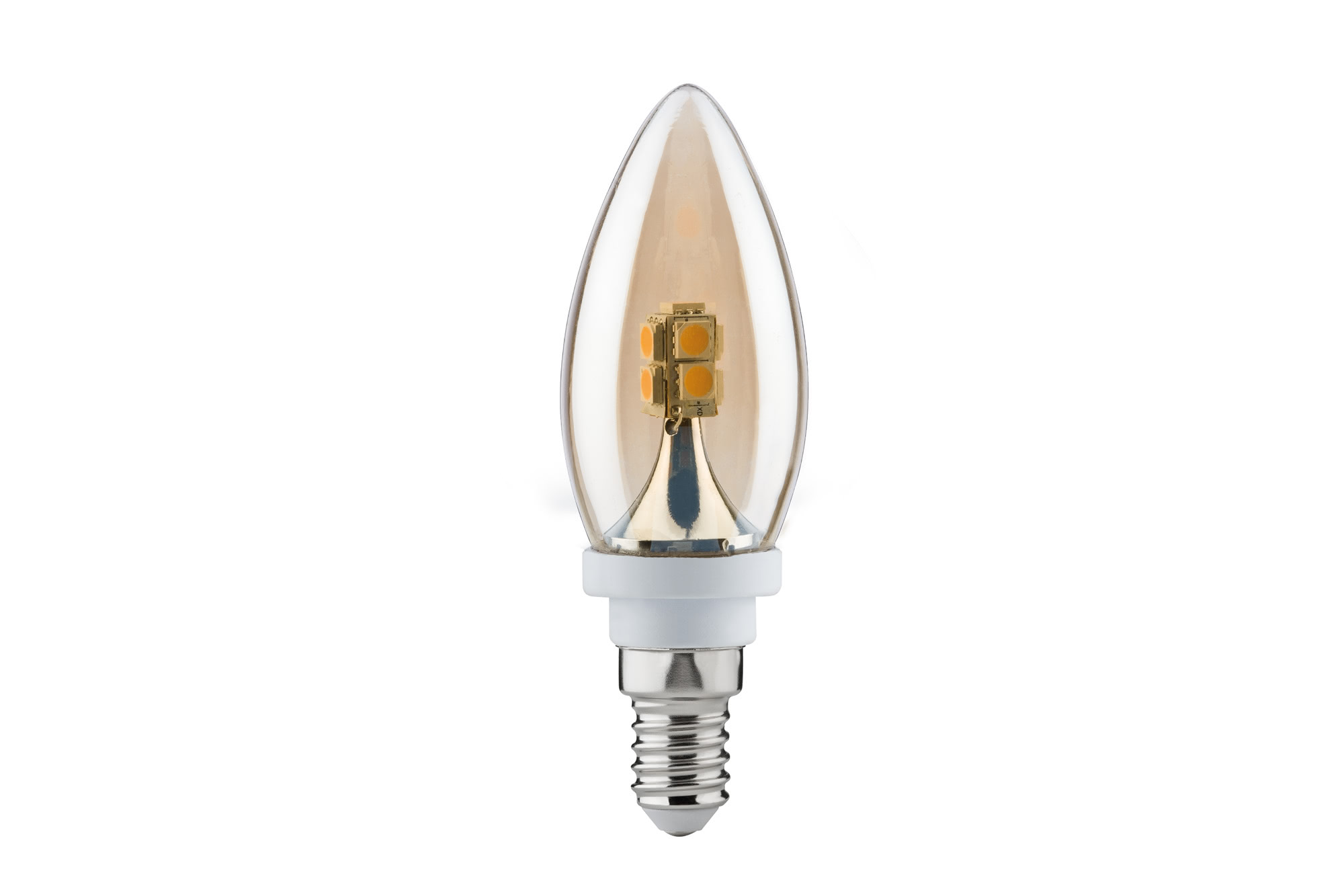 Paulmann. 28173 Лампа LED Decoline Kerze 2,2W E14 230V Gold