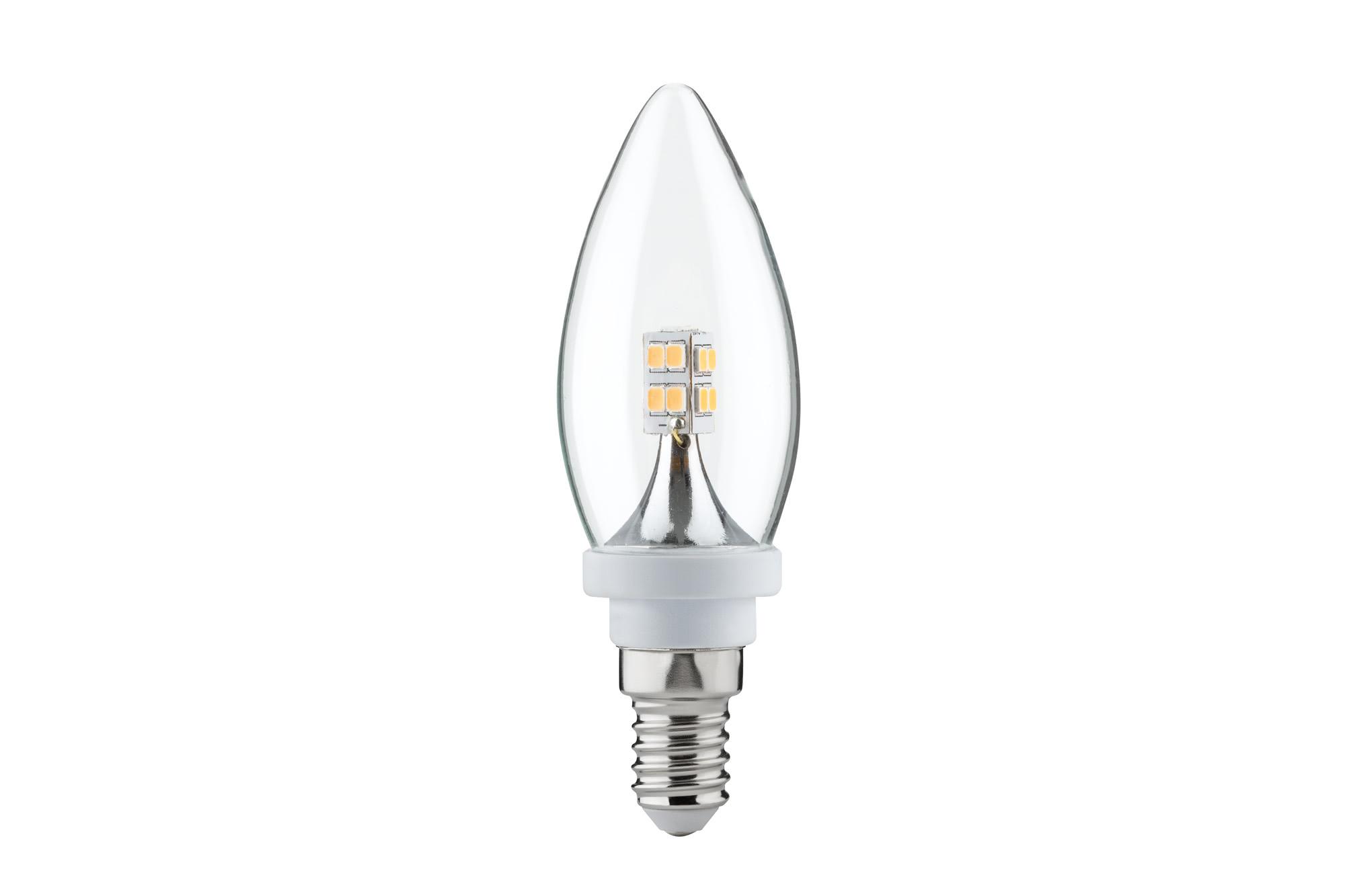 Paulmann. 28261 Лампа LED свеча 2,5W E14, прозрачная