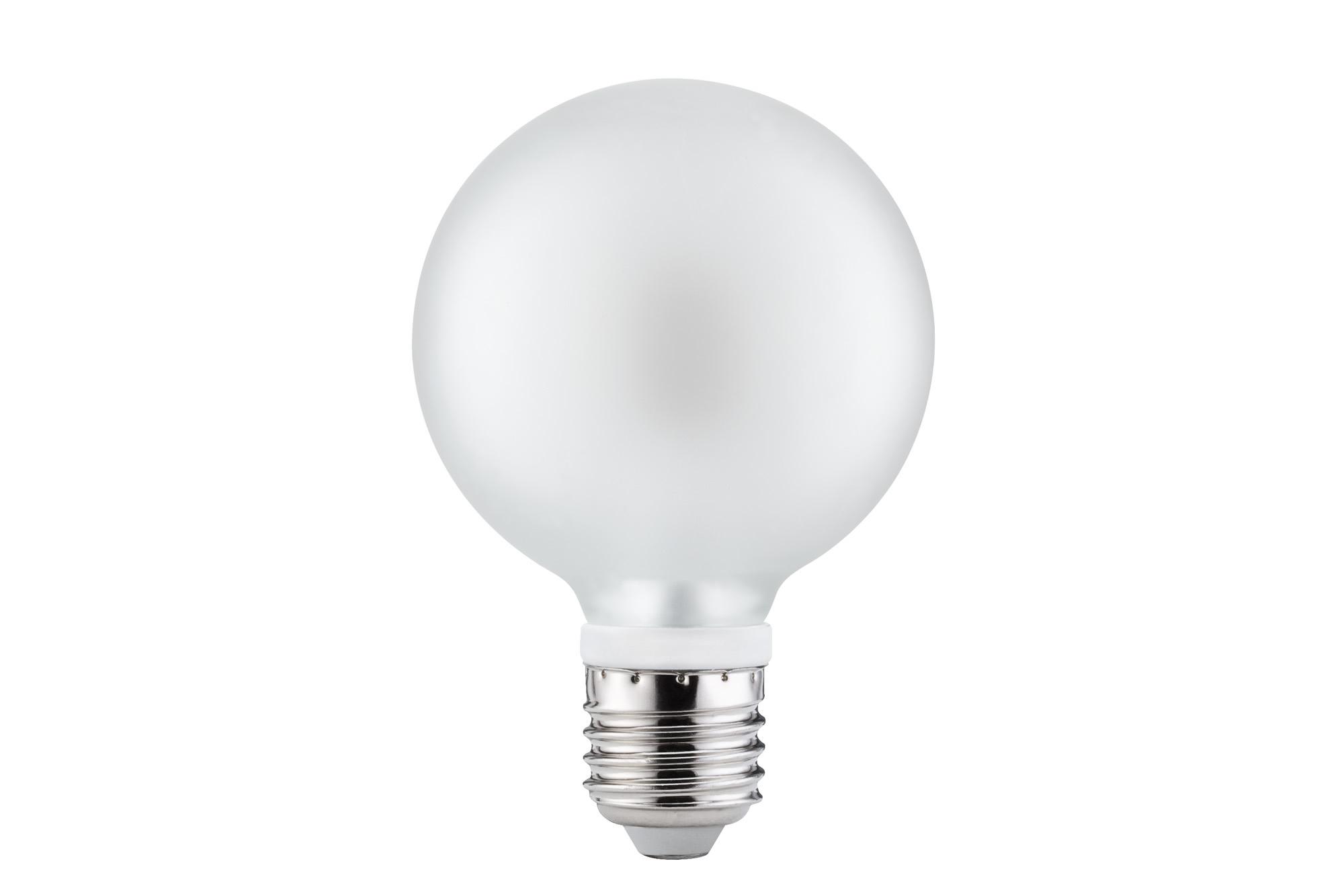 Paulmann. 28279 LED Globe 80 7W E27 Satin 2700K