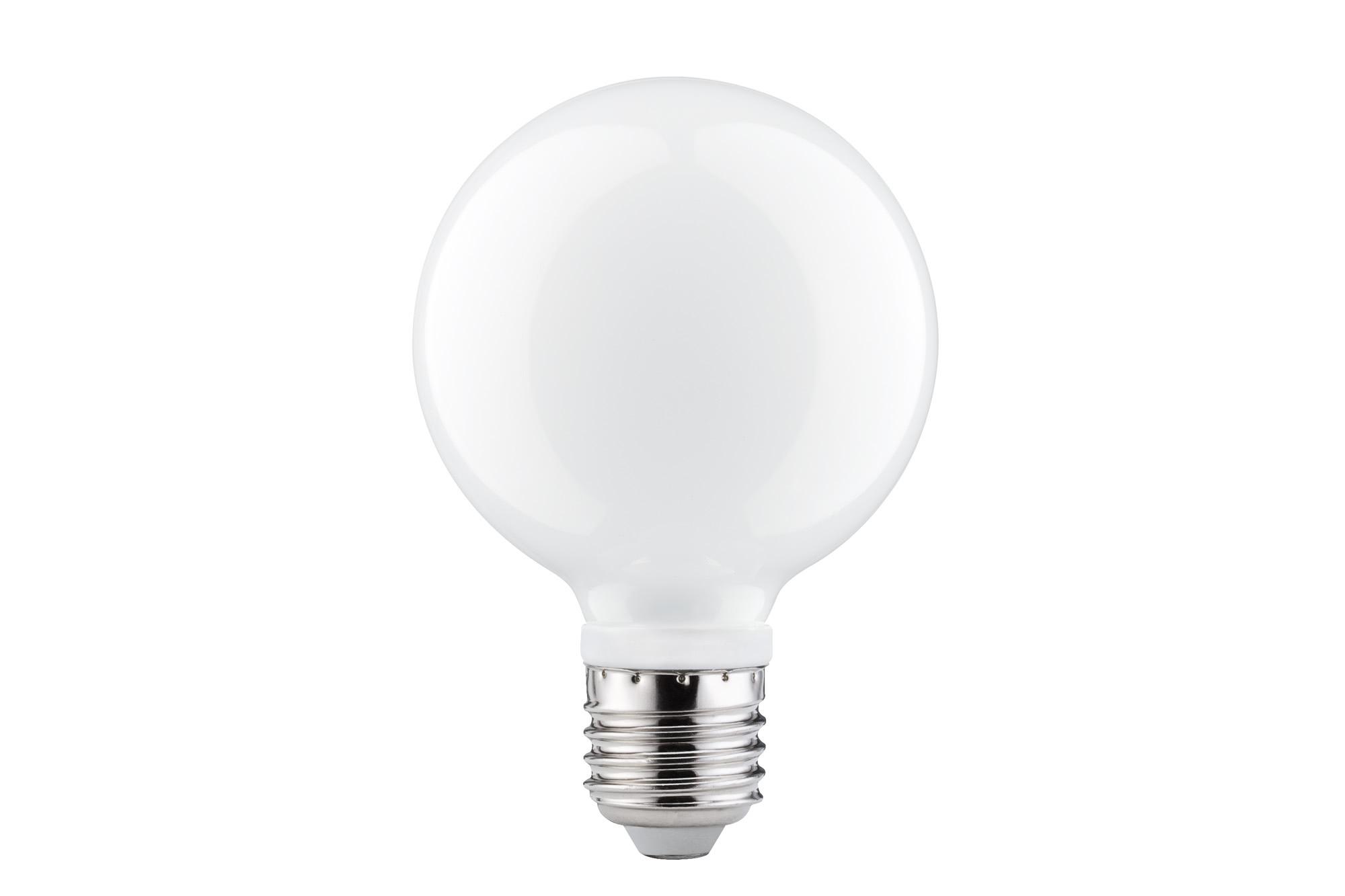 Paulmann. 28280 LED Globe 80 7W E27 Opal 2700K