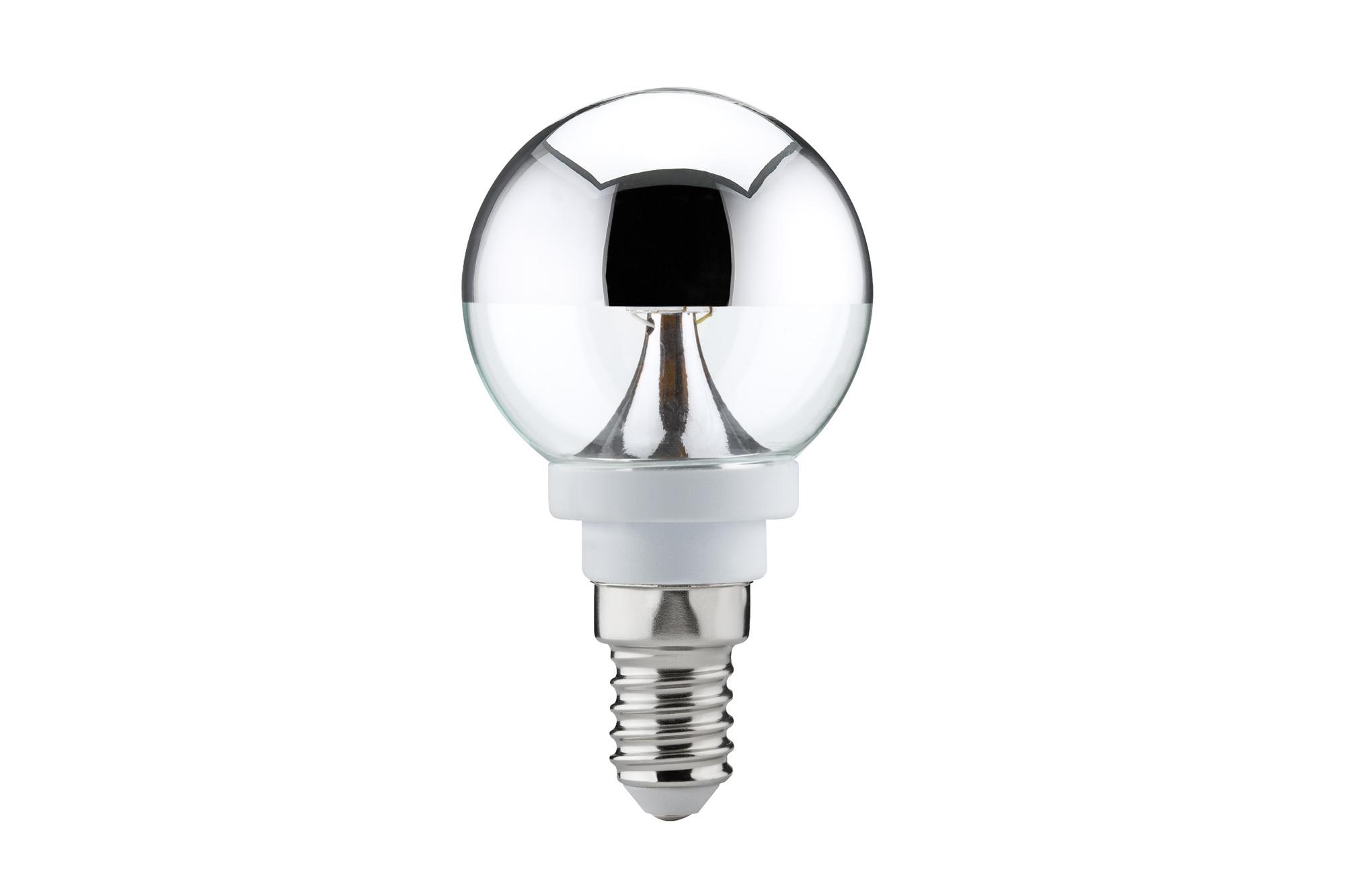 Paulmann. 28281 Лампа LED Tropfen Kopfspiegel 2,6W E14 Si