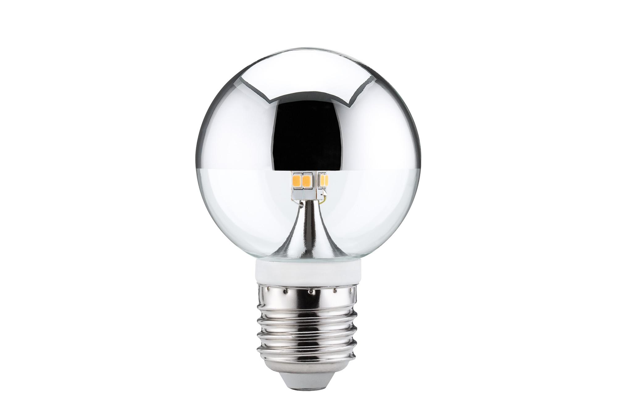 Paulmann. 28282 LED Globe 60 Kopfspiegel 2,6W E14 Si