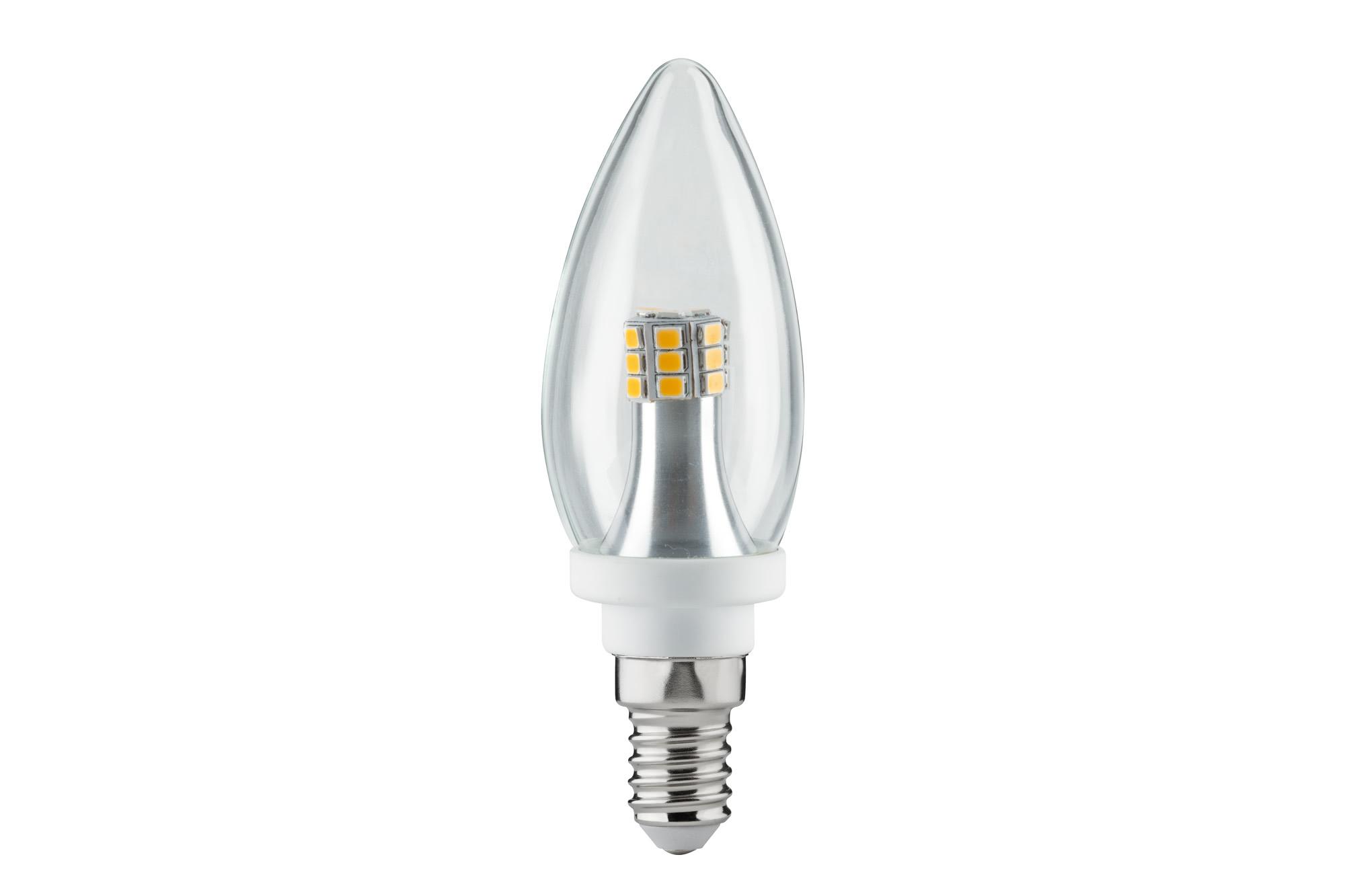 Paulmann. 28315 LED Kerze 4W E14 Klar 2700K