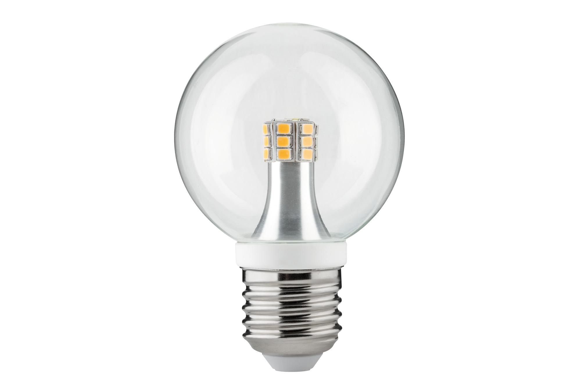 Paulmann. 28318 Лампа LED Globe 60 4W E27 Klar 2700K