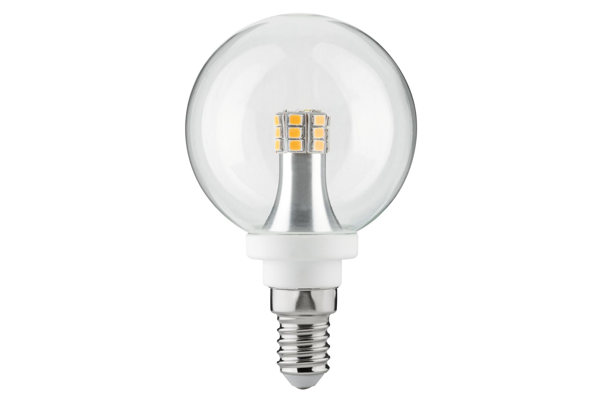 Paulmann. 28319 LED Globe 60 4W E14 Klar 2700K