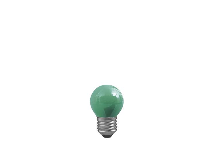 Paulmann. 40133 Лампа Капля, зеленая, E27, 45мм 25W