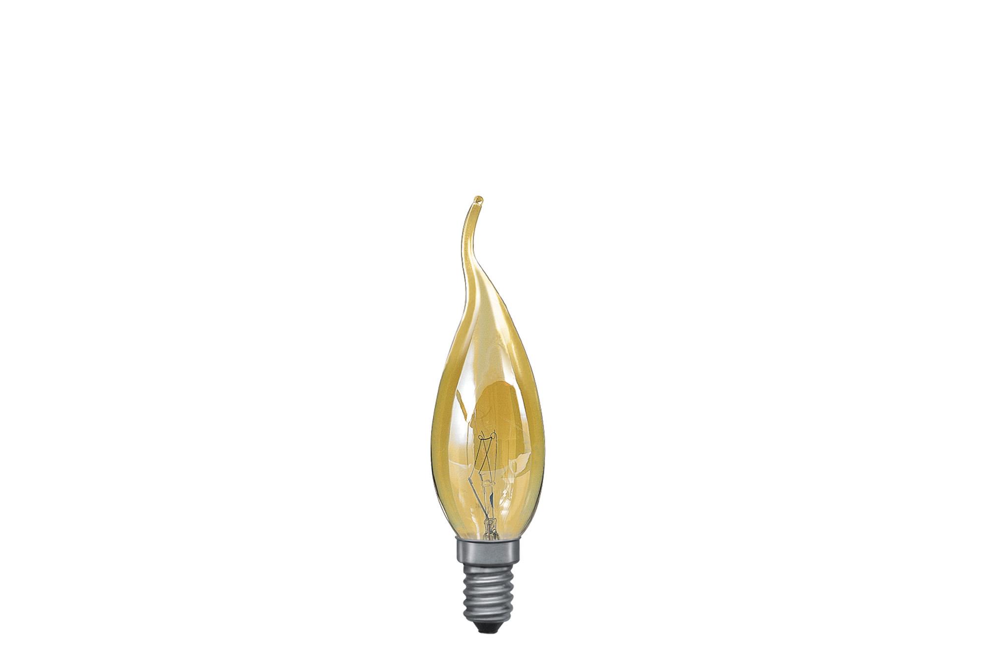 Paulmann. 51367 Лампа свеча- уютный свет, желтая, E14, 35мм 60W