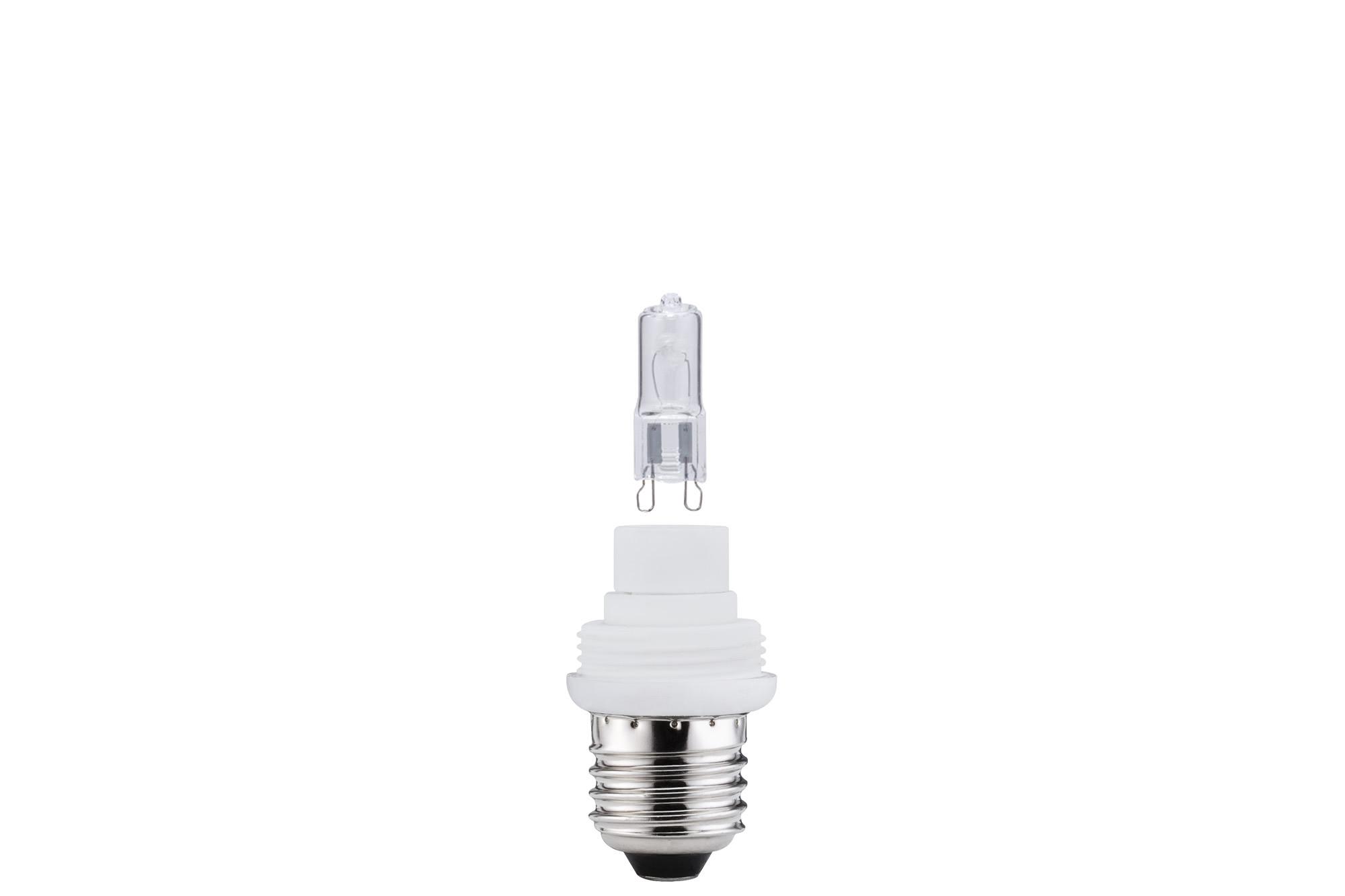 Paulmann. 54922 Лампа галоген. E27mit 33W G9 Klar f.под сменный плафон