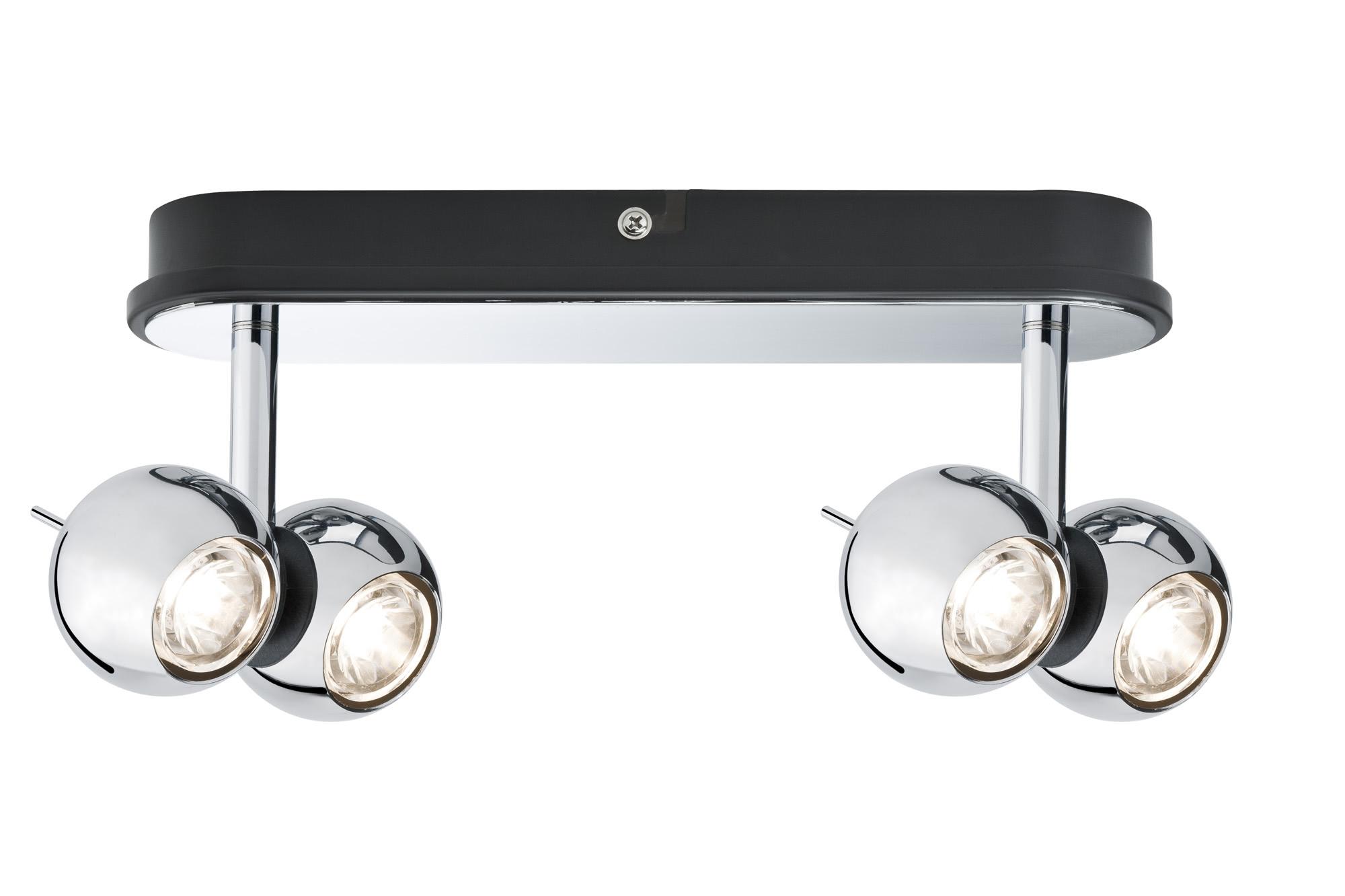 Paulmann. 60039 Св-к Sphere LED 2х(2x5W), хром