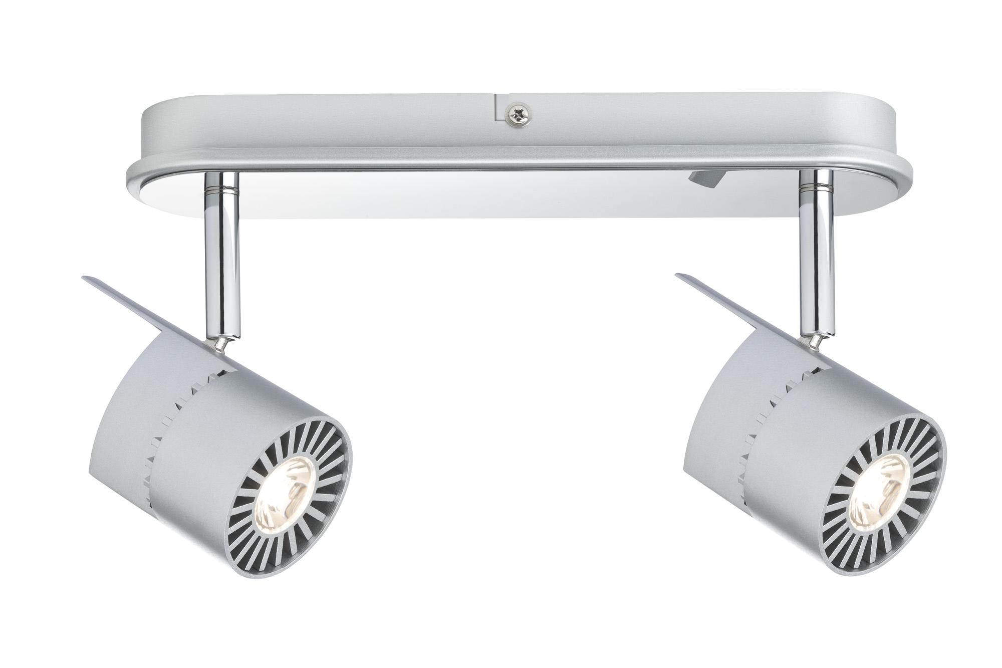 Paulmann. 60164 Св-к Power LED 2x10W, хром матовый