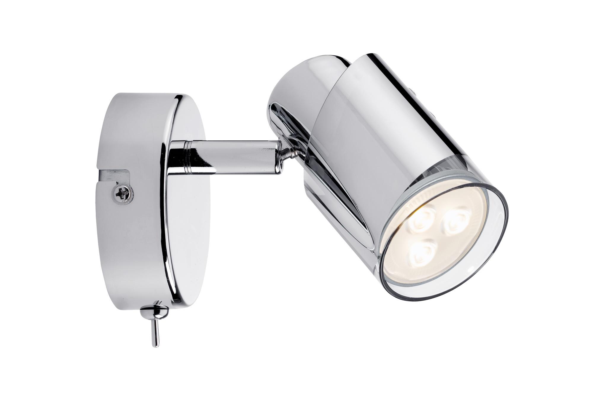 Paulmann. 60178 Светильник SL Futura LED Rondell 1x3,5W GU10 Chr