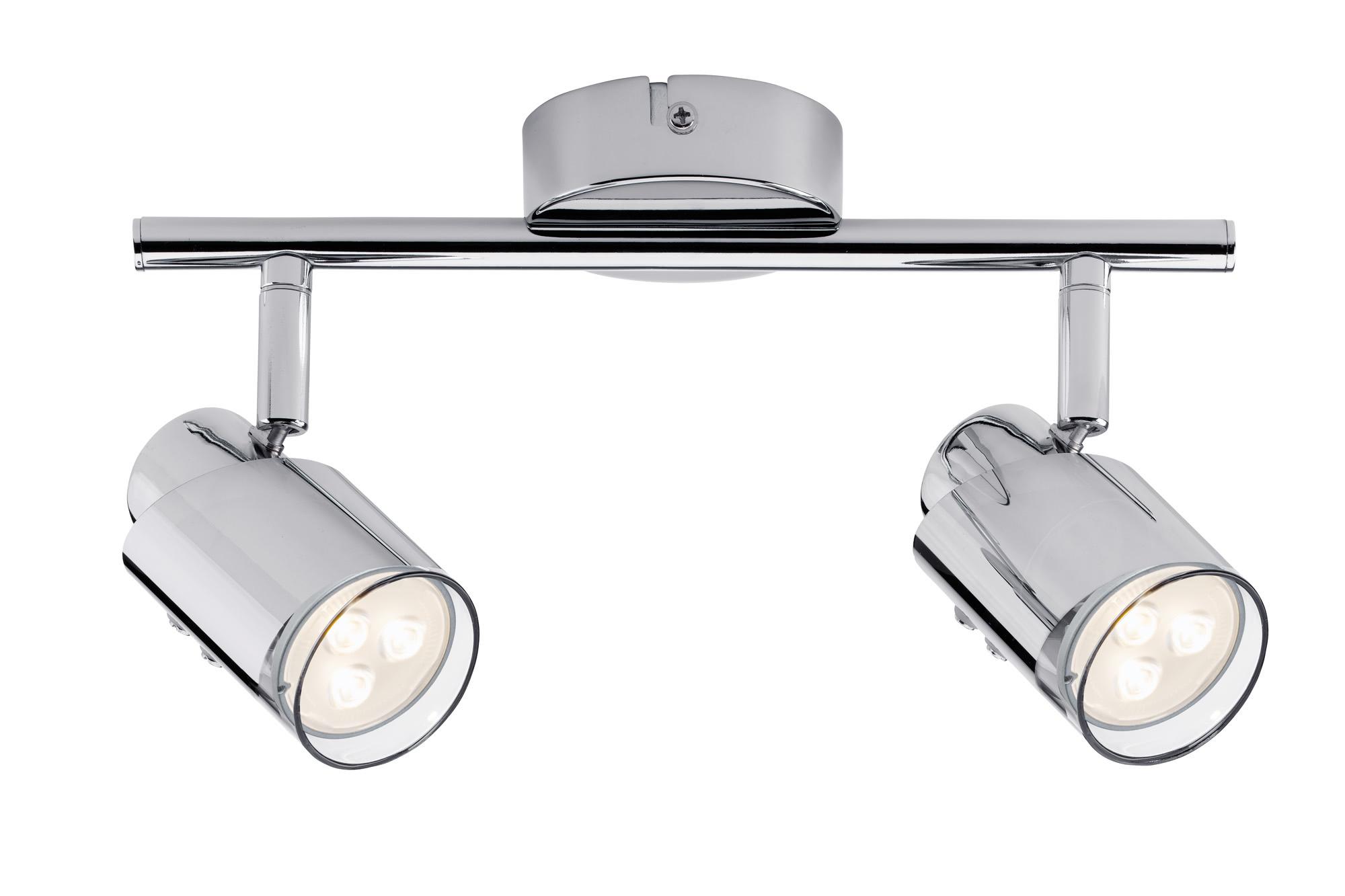 Paulmann. 60179 Светильник SL Futura LED Stange 2x3,5W GU10 Chr