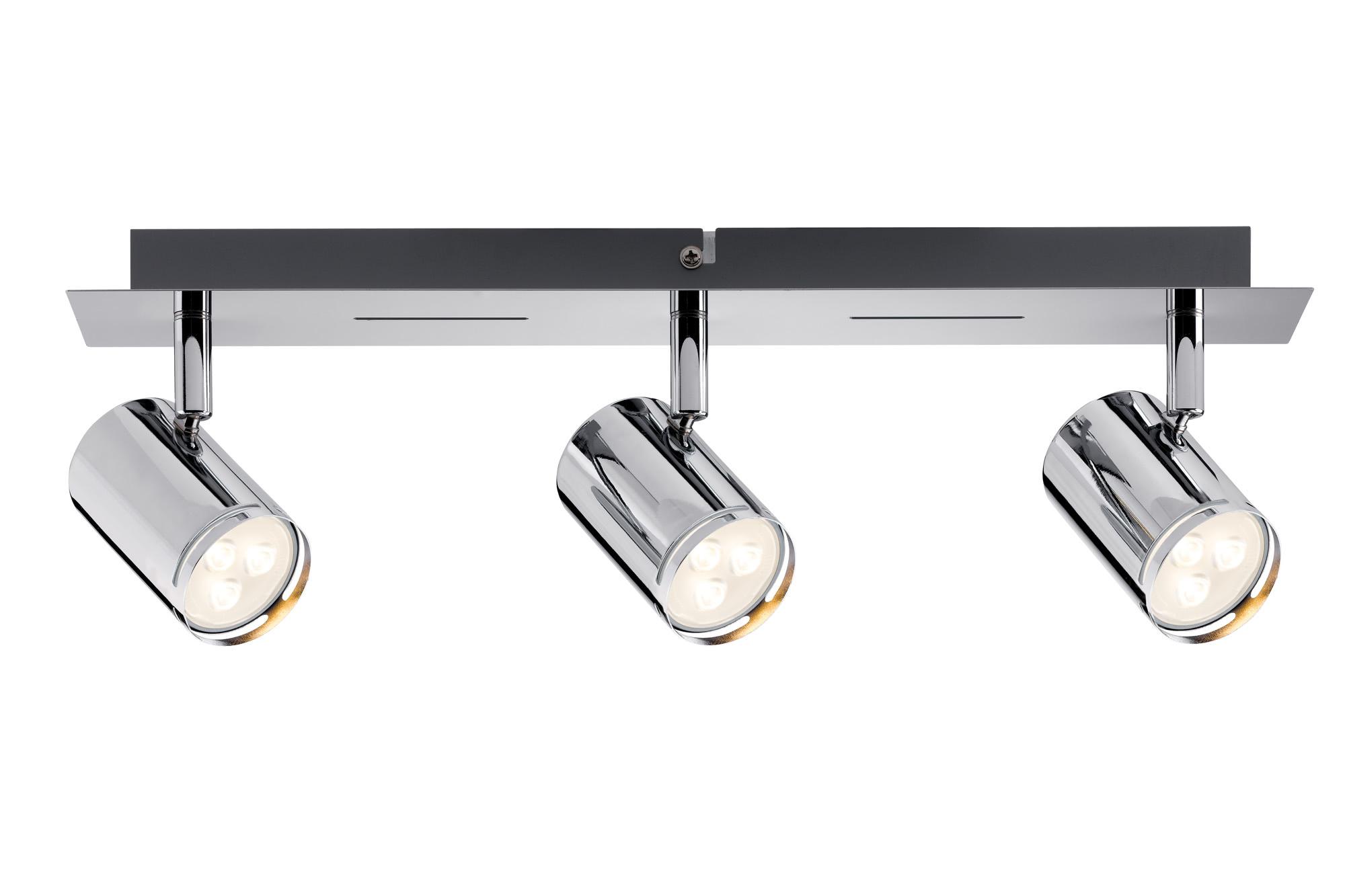 Paulmann. 60184 Светильник Rondo LED Balken 3x3,5W GU10 Chr