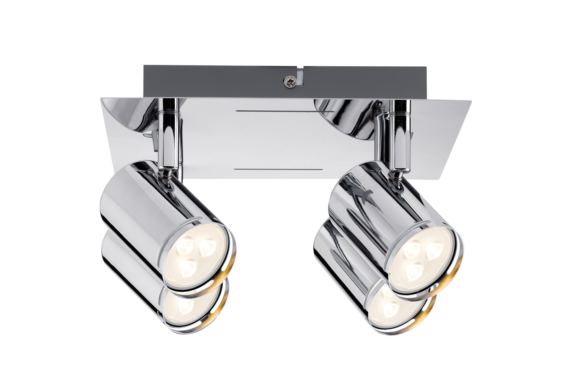 Paulmann. 60185 Светильник SL Rondo LED Rondell 4x3,5W GU10 Chr