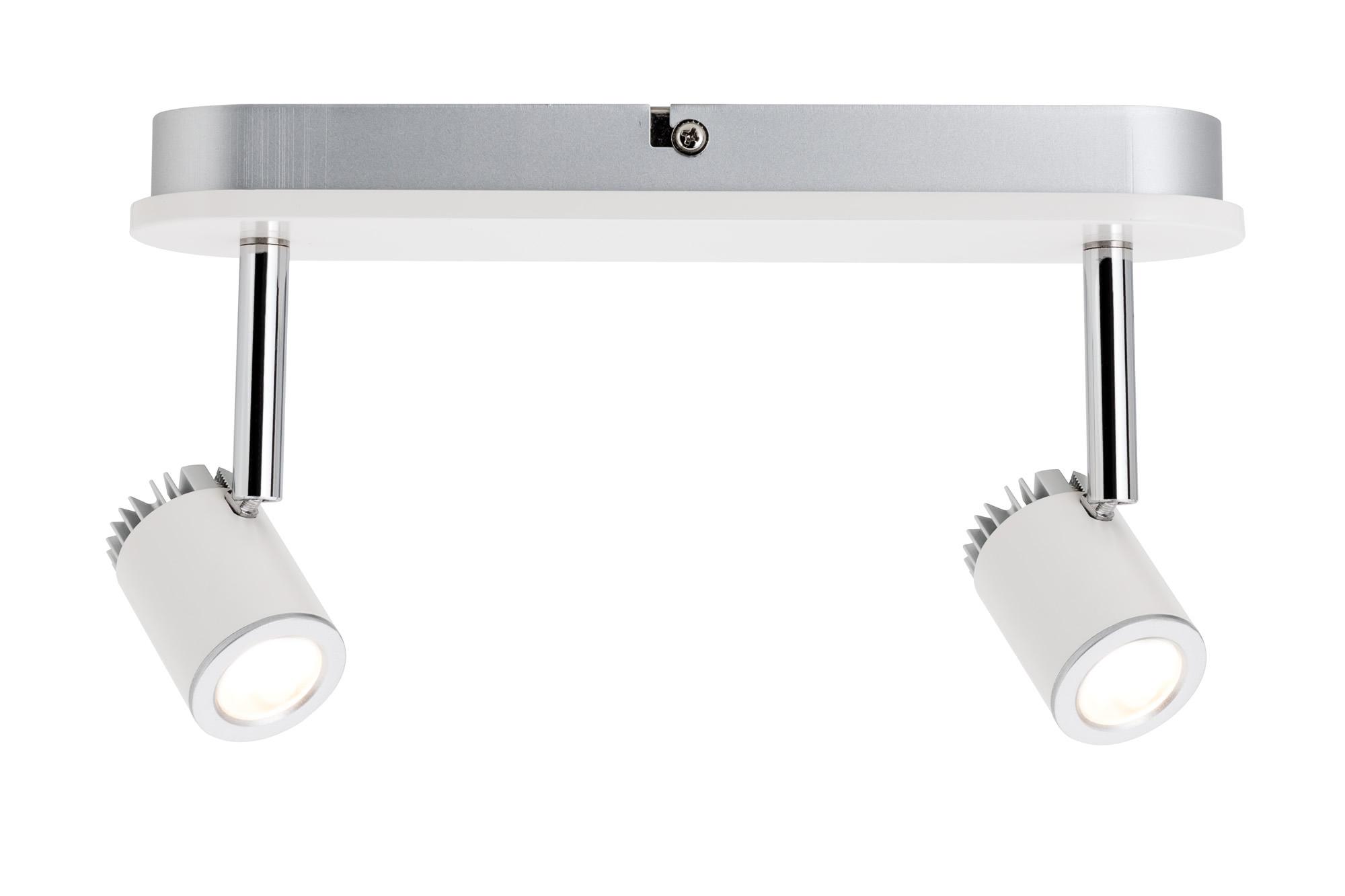 Paulmann. 60231 Светильник настенно-потолочный LED Balken 2x3W Ws-m